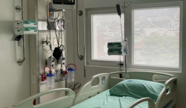 El centro médico especializado en la atención de pacientes con COVID-19