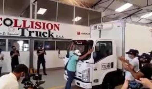 Edwin Camión Reconstruido