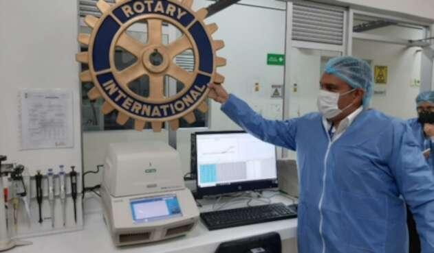 Maquinas para leer pruebas