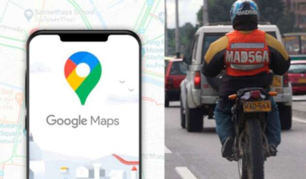 Google Maps, modo moto
