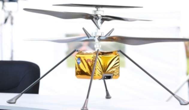 Ingenuity, el helicóptero que saldrá del rover Perseverance