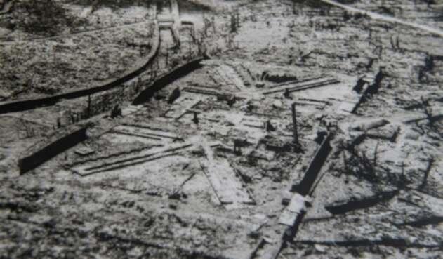 Bomba de Hiroshima ocurrida el 6 de agosto de 1945.