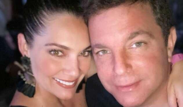 Jessica de la Peña y su esposo Ernesto Chálela