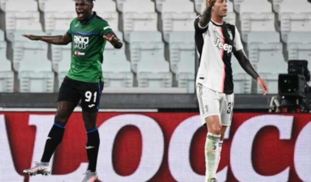 Juventus Vs. Atalanta - Serie A - Duván Zapata