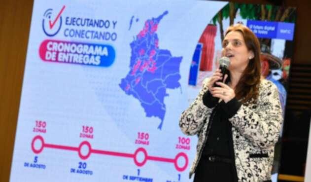 Karen Abudinen, Ministra TIC