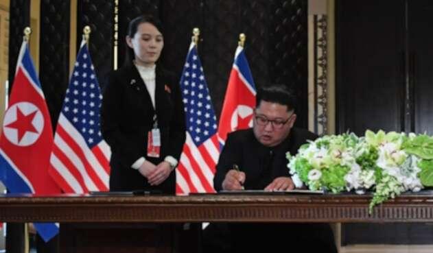 Kim Yo Jong, la hermana del líder de Corea del Norte, Kim Jong Un