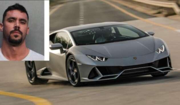 Hombre que compró Lamborghini con ayuda federal de COVID es arrestado en EEUU