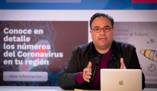 Luis Guillermo Plata, gerente designado por el presidente Iván Duque para atender la COVID-19