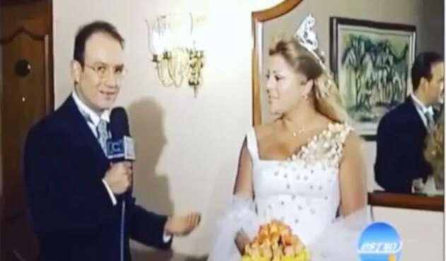 Marbelle así apareció en su matrimonio