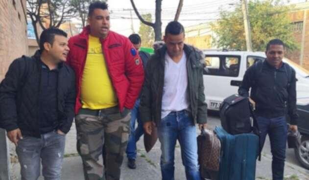 Martín Elías y Rolando Ochoa en Bogotá