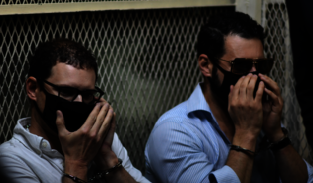 Detienen a los hijos del expresidente Ricardo Martinelli
