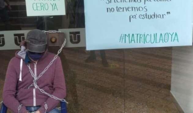 Huelga de hambre en Universidad del Tolima
