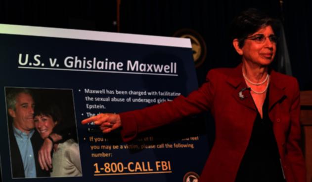Capturan a Ghislaine Maxwell, pareja de Jeffrey Epstein