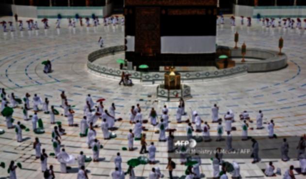 Peregrinación a La Meca en medio de la pandemia