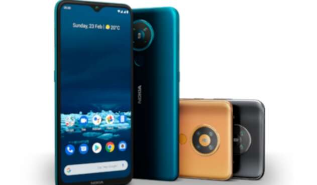 Nokia 5.3, smartphone con cámara cuádruple