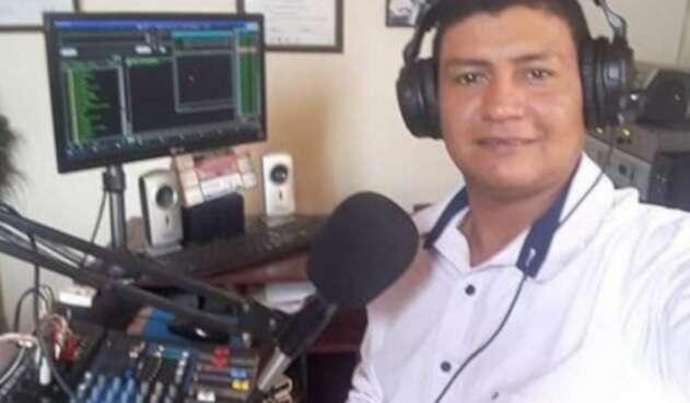 Periodista Juan Alejandro Loaiza