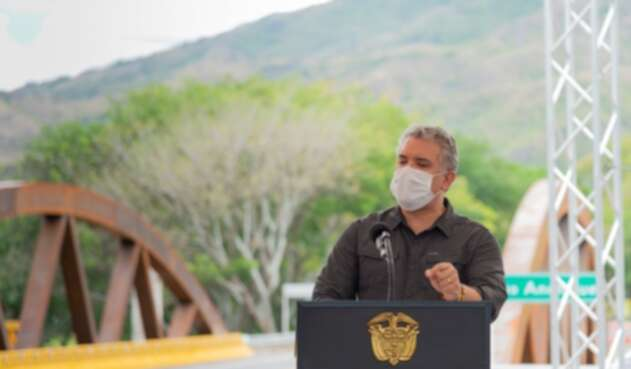 Presidente Iván Duque en Tolima.