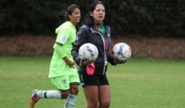 Sandra Salamanca, directora técnica del fútbol colombiano