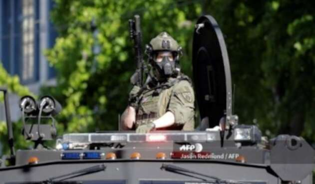 Agentes federales Estados Unidos
