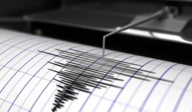 El temblor tuvo una magnitud de 5.