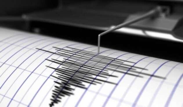 El temblor tuvo una magnitud de 4.1.