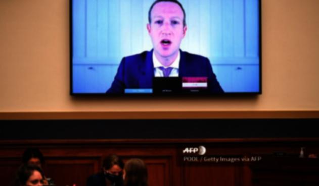 Mark Zuckerbeg ante el Congreso de EEUU