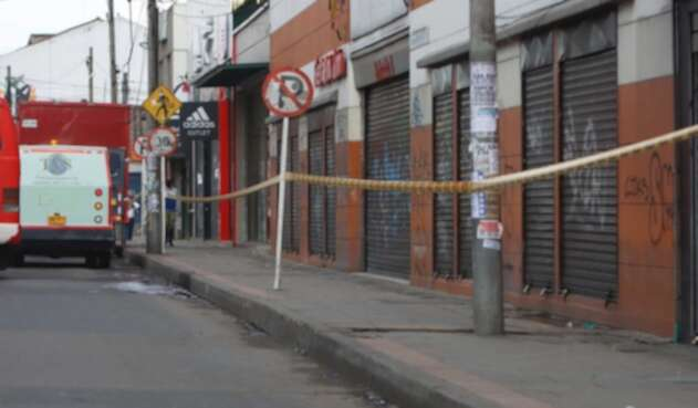 Cuarentena en Bogotá / establecimientos cerrados