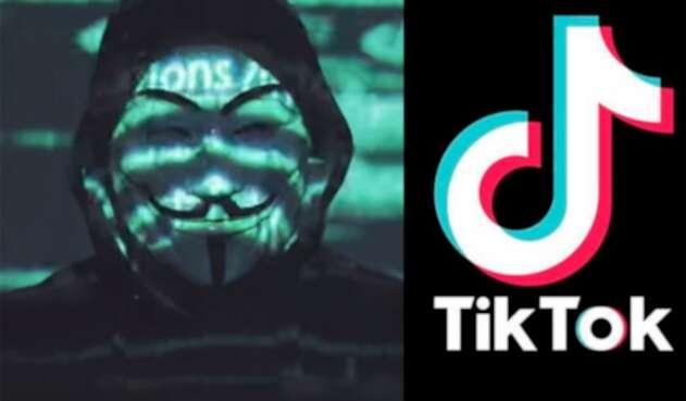 Anonymous y TikTok