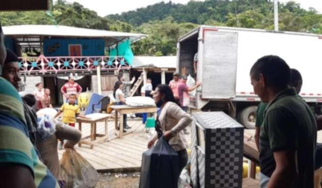 Llegada de excombatientes de las Farc a Mutatá, Antioquia