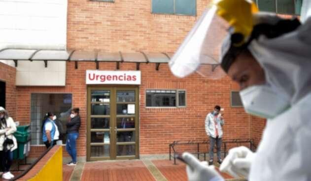 Coronavirus en Bogotá / hospital San Blas