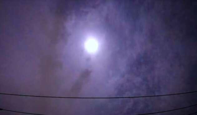 Un meteoro explota sobre Japón