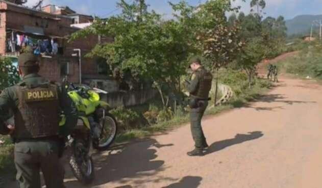 Un cuerpo élite de la policía investiga el asesinato de un ex integrante de las FARC en Urrao Antioquia