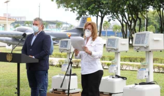 Los ventiladores recibidos en el Valle, serán distribuidos en ciudades como Cali y Buga.