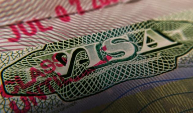 Visa estadounidense