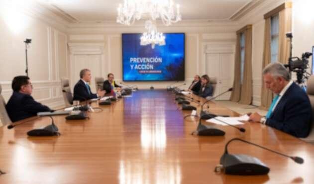"""Presidente Iván Duque encabeza programa """"Prevención y Acción"""""""