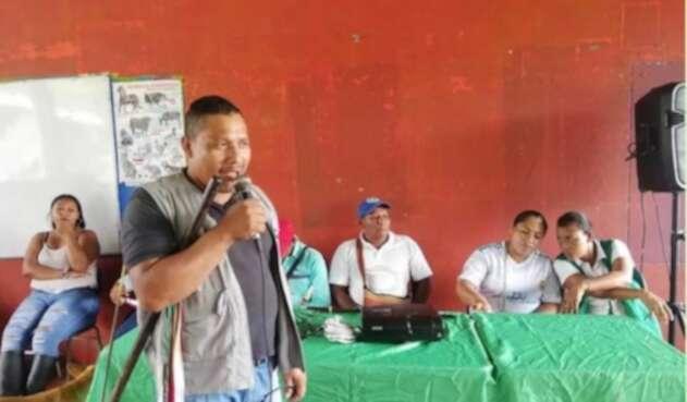 Gobernador Indigena asesinado
