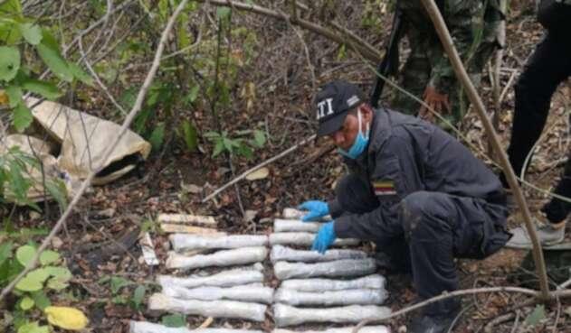 El operativo se desarrollo en el corregimiento de la Majayura, zona de frontera con Venezuela.
