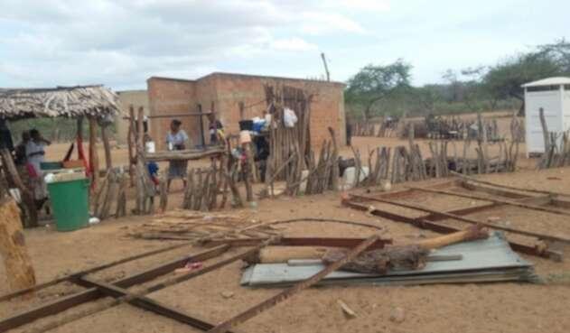 Varias comunidades indígenas y viviendas resultaron afectadas.
