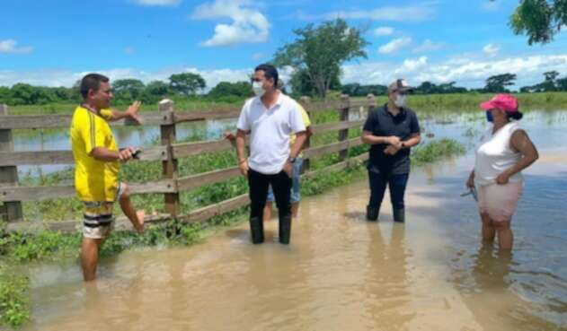 Por fortuna no hay personas lesionadas, durante las lluvias