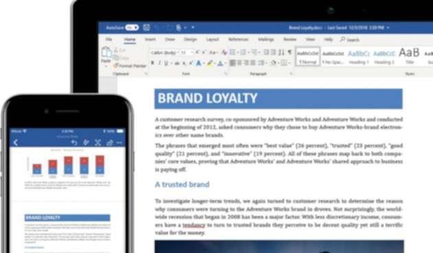 Microsoft Word, programa para crear textos
