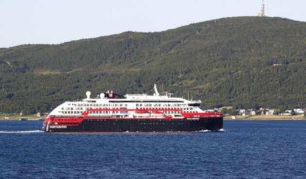 Crucero de la compañía noruega Hurtigruten