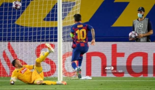 David Ospina - Barcelona vs Napoli
