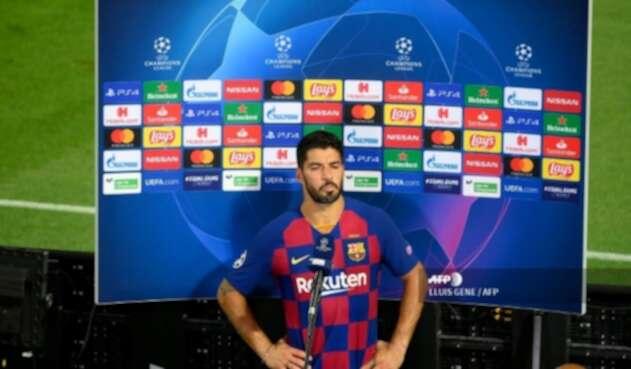 Luis Suárez, delantero de Barcelona