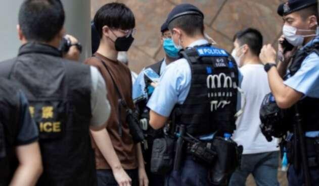 policia hong kong