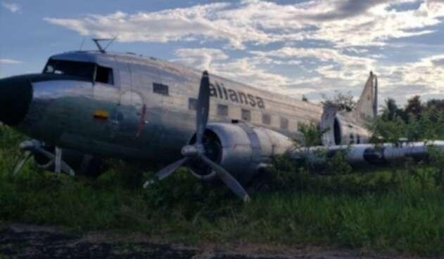 Accidente en aeropuerto de Guaviare