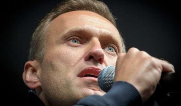 Alexéi Navalni, líder opositor ruso
