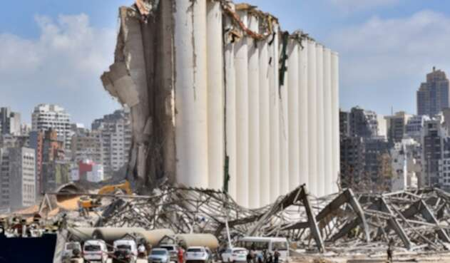 Explosión en Beirut