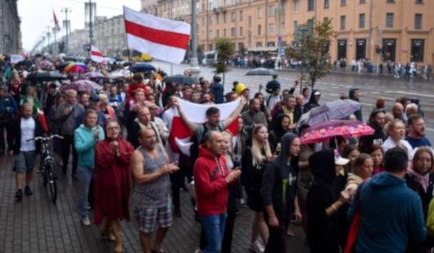 Protestas en Bielorrusia por reelección de Aleksandr Lukashenko