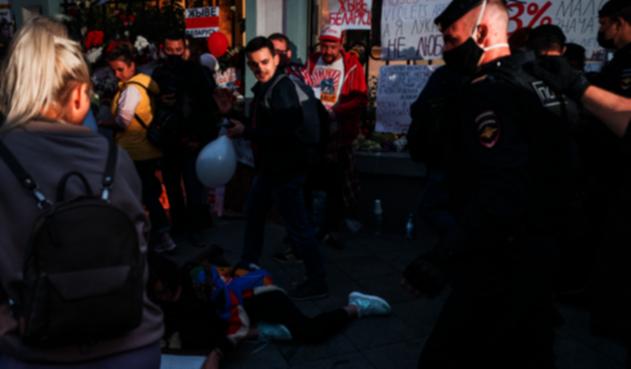 Manifestaciones en Bielorrusia