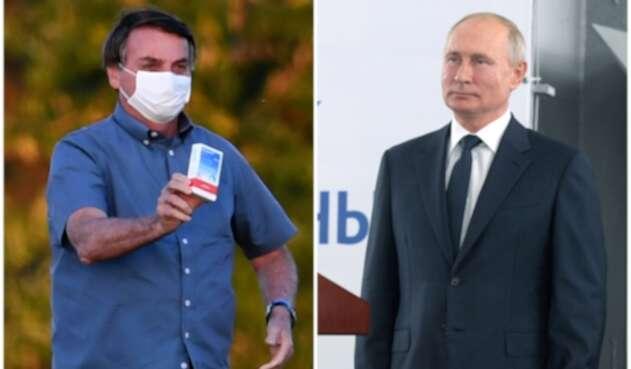 Bolsonaro y Putin